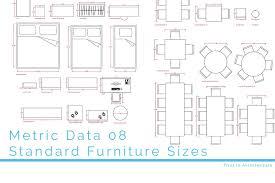 metric data 08 standard furniture