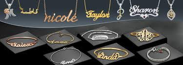get made personalized name pendants bracelets of your dreams available in white gold yellow gold pink gold and silver metal get made in design of your