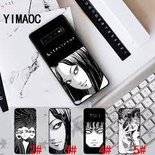 Ốp điện thoại dẻo hình truyện tranh kinh dị Nhật Bản Tomie173C cho Samsung  S10E S10 S20 Ultra Note 8 9 10 Plus Lite