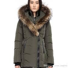 women s down jacket winter warm mac adali f4 down parkas brand real rac fur collar white duck outerwear coats for women with fur hood
