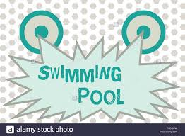 Pool Word Word Writing Text Swimming Pool Business Concept For Structure