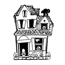 Spookhuizen Kleurplaten Leuk Voor Kids