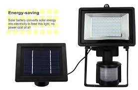 Savings On Solar PIR Motion Sensor 36 LED Security Flood LightSolar Security Flood Light
