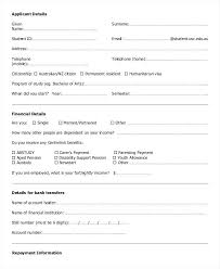 Blank Loan Agreement Template Form Free Personal Sample