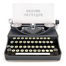 Resume Critique Elite Resume Studio
