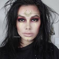 witch inspired makeup looks natascha pederson
