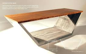 diy concrete desk concrete coffee tables industrial concrete coffee table build concrete desk
