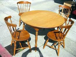 unfinished kitchen table round wood exquisite sets d cherry and chairs