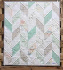 Best 25+ Baby boy quilts ideas on Pinterest | Baby blankets, Baby ... & Baby Herringbone Quilt- Neutral Baby Blanket- Mint, Gray, and White - READY Adamdwight.com