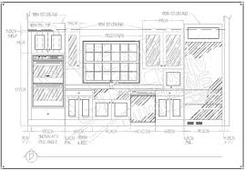 Autocad For Kitchen Design Cadkitchenplanscom Portfolio 2d Autocad