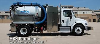 Hydro Excavator Truck Vactor Manufacturing Introduces Vactor Hxx Paradigm Vacuum