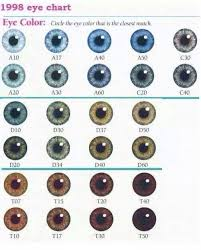 Whats Your Eye Color New Color Chart Community The
