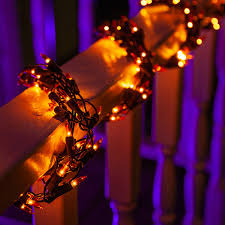 Garland Red Light Camera Ticket 9 Ft Orange Halloween Thanksgiving String Lights Garland 300 Party Lights