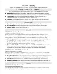 Administrative Assistant Resume | Resume Examples | Pinterest ...
