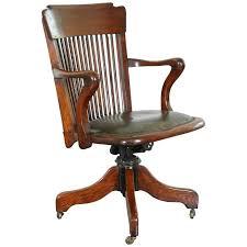 edwardian arts and crafts swivel desk chair oak office chair in oak desk chair renovation