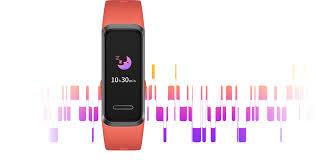 HUAWEI Band 4, thiết bị theo dõi nhịp tim, vòng đeo tay thông minh