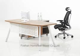 simple design business office. Modern Business Office Simple Design Curved Manager Desk (HF-BSA02) E