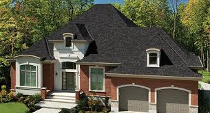 black architectural shingles. Fine Shingles Black Architectural Shingles For Traditional Home Design With Double Garage  And Dormer Windows Also Simple  N