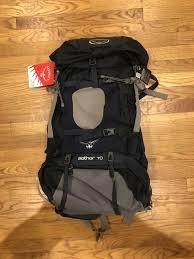 Bnwt Osprey Aether 70 Midnight Blue Size Medium Pack Backpack