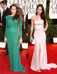 fp 6549433 rij 68th golden globes 011611 angelina jolie and megan fox at the golden globes