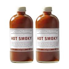 LILLIES Q HOT SMOKY BARBECUE SAUCE, 2 PACK