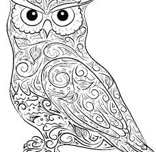 Coloring Pages Of Owls Coloring Pages Owls Love Valentines Of