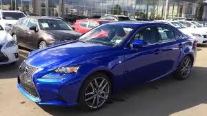 lexus is 250 2014 blue. Simple 2014 New Ultrasonic Blue Mica 2015 Lexus IS 250 AWD F Sport Series 2 Review  Edmonton Alberta Canada  YouTube Intended Is 2014 L