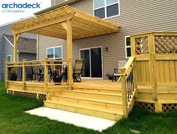 mobile home deck designs. best 25 covered deck designs ideas on pinterest amazing mobile home