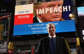 Why Steyer's Campaign to Impeach Trump Unsettles Some Democrats - WSJ