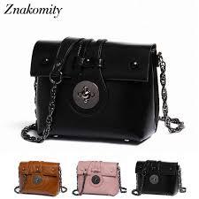 <b>Znakomity</b> Genuine leather <b>messenger bag</b> women's Small ...
