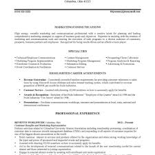 Resumes And Cover Letters  The Ohio State University Alumni with regard to Resume  Help Columbus Ohio