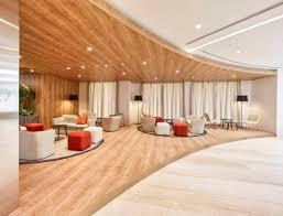 Light Wood Bureau Swiss Bureau Completes Interiors Of The New Auditorium In