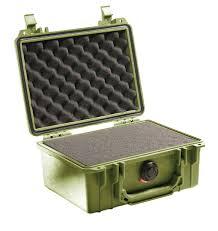 Pelican Case Size Chart Pelican Case 1150 With Foam Od Green