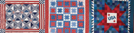 Free Patriotic Quilts eBook - The Quilting Company & Free Fourth of July quilt patterns that are also patriotic! Adamdwight.com