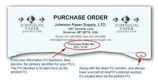 What Is A Purchase Order Number Anypo The Purchase Order System