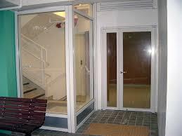 fire smoke resistant doors screen and door view