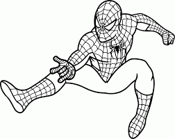 Free printable coloring pages and book for kids. Spectacular Spider Man Coloring Pages Coloring Home
