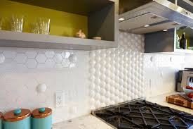 Bernal Heights 2 Residence Modern Kitchen Backsplash Tile