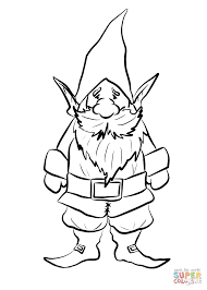 Small Picture Gnome coloring page Free Printable Coloring Pages