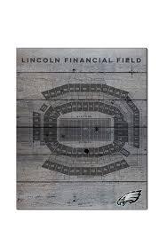 Philadelphia Eagles Seating Chart Philadelphia Eagles 16x20 Seating Chart Sign 15670044