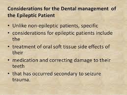 Dental Management Of Epileptic Pat Ppt
