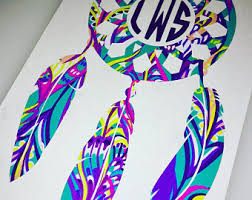 Personalized Spinning Dream Catcher Dream Catcher Decal Etsy Studio 28