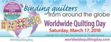 Worldwide Quilting Day - Home   Facebook & Image may contain: text Adamdwight.com