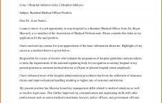 Application Letter Sample Medical Technologist Nurse Practitioner