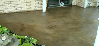 stained concrete patio. Diy Concrete Stain Patio Revitalize An Old Direct Colors Inc  For Cleaning Stained Acid Stained Concrete Patio