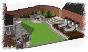 Small Picture New build garden design Leicestershire before after