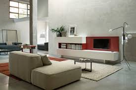 Pine Living Room Furniture Sets Brown Laminated Wooden Flooring Grey Sectional Rug White Stained