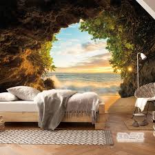relaxing 3d nature wallpaper ideas for bedrooms