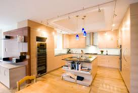 kitchen with track lighting. Square Pendant Light Kitchen Contemporary With Wall Oven Track Lighting