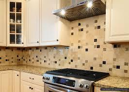 glass travertine tile backsplash. Beautiful Tile Santa Cecilia Granite Travertine Backsplash With Brown Beige Glass Insert With Glass Travertine Tile Backsplash R